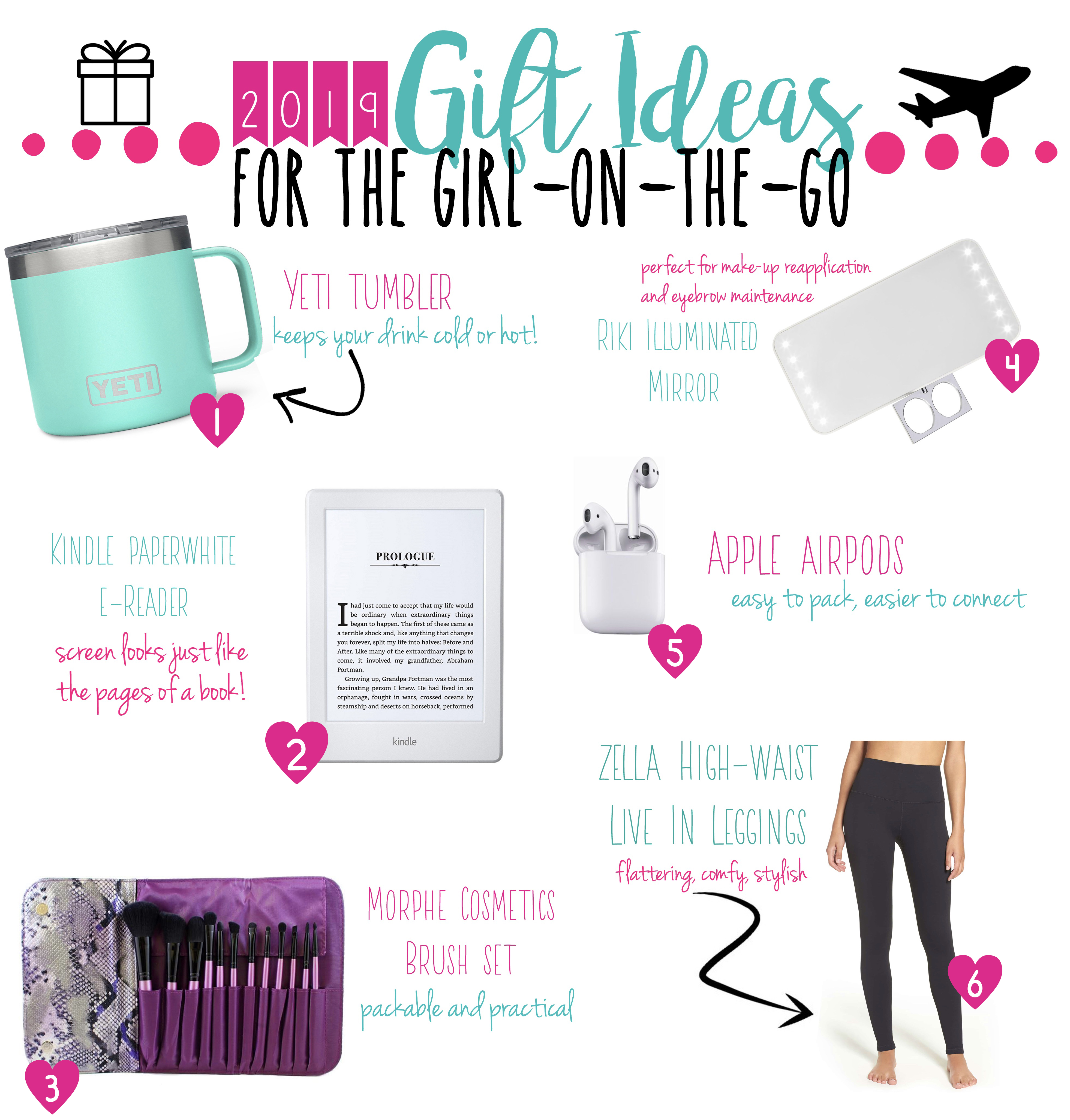 2019 Gift Ideas For The Girl On The Go Adventure A La Mode
